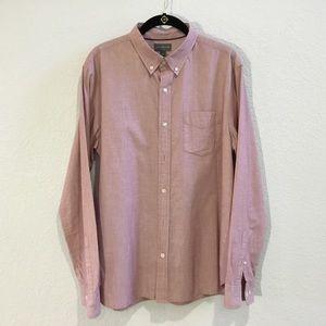 (EC) LL Bean Signature Oxford button down shirt